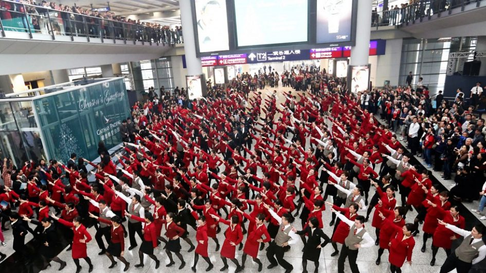 flash mob guerrilla marketing